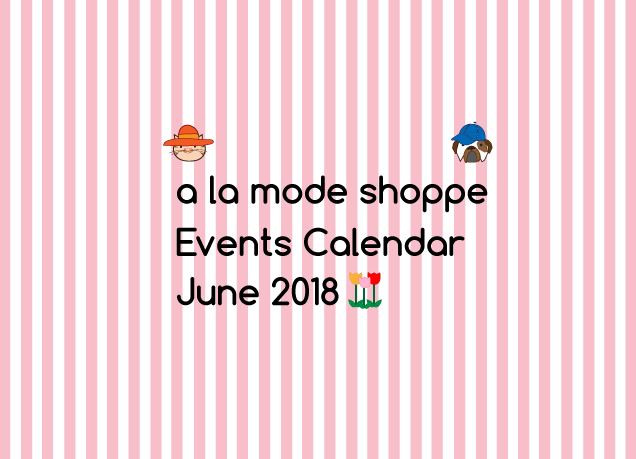 June 2018 Events Calendar