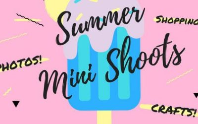 Summer Mini-Shoot Event! 6/10 – 9am-12pm