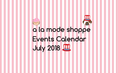 July 2018 Events Calendar