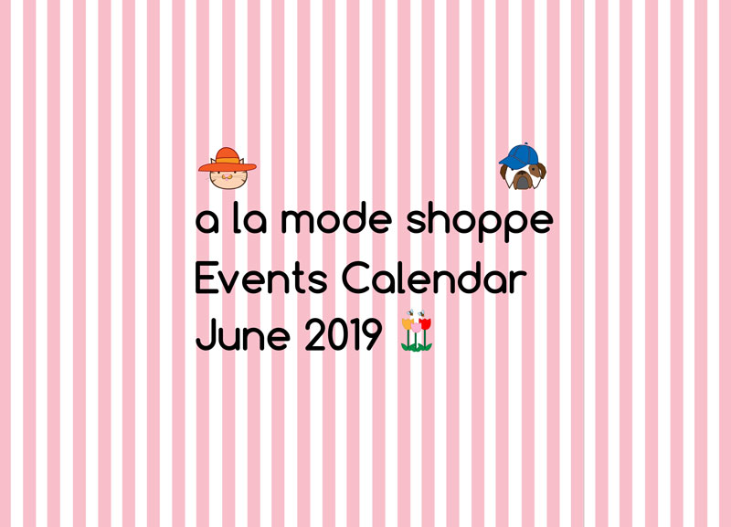 June 2019 Events Calendar